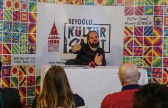 Araştırmacı Mehmet Dilbaz Beyoğlu'nun oluşum hikayesini anlattı