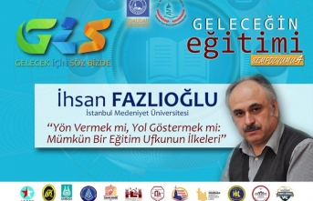 """İhsan Fazlıoğlu:  """"Yön Vermek mi, Yol Göstermek mi? Mümkün Bir Eğitim Ufkunun İlkeleri"""""""
