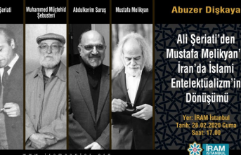 """Konferans: """"Ali Şeriati'den Mustafa Melikyan'a İran'da İslami Entelektüalizm'in Dönüşümü"""""""