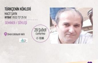Seminer: Türkçenin Kökleri