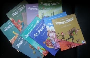 Tarihi kahramanlarla çocuklara geçmişe yolculuk yaptıran kitaplar