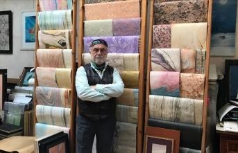 'Yaşayan İnsan Hazinesi' ödüllü Barutçugil'in hayali ebru müzesi