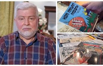 Çizer Erol Abasız: Türkiye'de sadece Batılı çizgi romanlar var