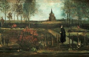 Vincent van Gogh'a ait bir tablo müzeden çalındı