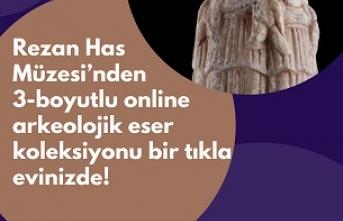 Rezan Has Müzesi'nden Türkiye'de bir ilk