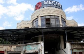 Hatay'da tarihi Meclis binasında restorasyon çalışmaları başladı