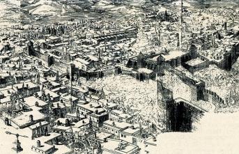 Erzurum'da camiler çift kapılı, çeşmeler çift oluklu