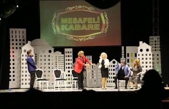 Pandemi süreci 'Mesafeli Kabare'yle açık havada sahneye taşınıyor