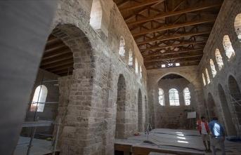 Tarihi Şehzade Korkut Camisi eski ihtişamına kavuşacak