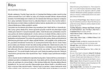 Dergâh Dergisi'nin Eylül sayısı okuyucuyla buluştu