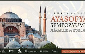 Uluslararası Ayasofya Sempozyumu düzenleniyor