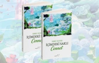 """Müzisyen Ebru Elver'in ilk kitabı """"İçimdeki Saklı Cennet"""" tüm kitapçılarda!"""