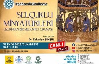 TYB Konya'dan Selçuklu minyatürleri üzerinden bir medeniyet okuması