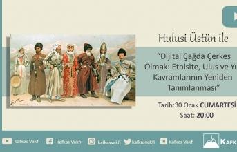 Kafkasya Sohbetleri II. Oturumunun konuğu; Hulusi Üstün