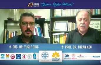 Prof. Dr. Koç: Yunus Emre'nin şiiri kendi olmasının ilk elden yorumudur