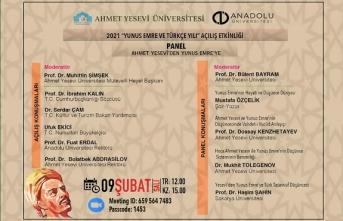 Panel: Ahmet Yesevi'den Yunus Emre'ye