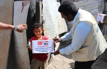 Sadakataşı Yemen'e acil yardım ulaştırıyor