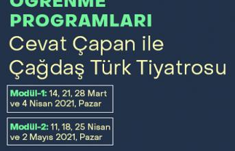 """Cevat Çapan'dan """"Çağdaş Türk Tiyatrosu"""" seminerleri"""