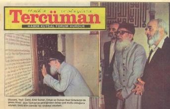 Emin Saraç Hocaefendi ile Hasan en-Nedvî'nin Bursa ziyareti