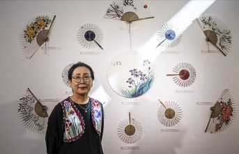 Kore Kültür Merkezi kaligrafi grubu öğrencilerinin eserleri çevrim içi sergiye taşındı