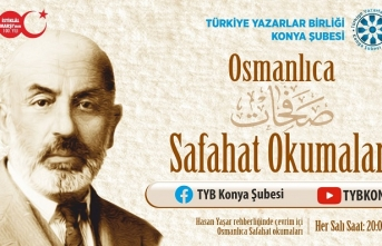 Osmanlıca Safahat okumaları başlıyor