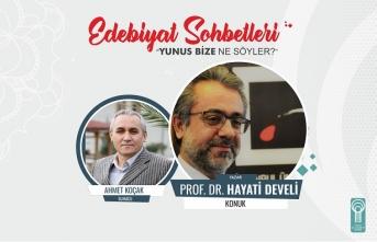 """Hayati Develi: """"Yunus kimliğini Türkçeyle inşa etti"""""""