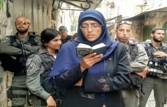 İlim halkalarıyla Mescid-i Aksa'yı bekleyen Kudüs'ün kadın muhafızları