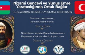 """Sınırları ortadan kaldıran bir etkinlik: """"Nizami Gencevi ve Yunus Emre eserlerinde ortak bağlar"""""""