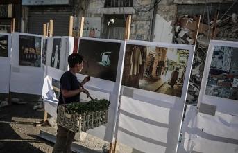Filistin'in 'pazar hikayeleri' fotoğraf sergisinde!