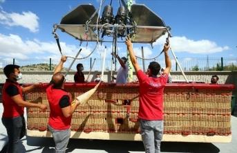 Kapadokya, yerli sıcak hava balon üretimiyle de ülke ekonomisine katkı sağlayacak