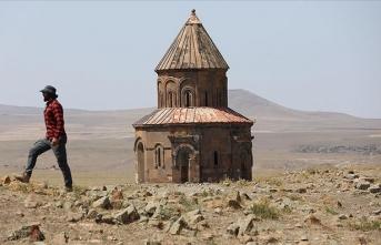 Kafkaslar'dan Anadolu'ya ilk giriş kapısı olan Ani'deki kazı, turizme ivme kazandıracak