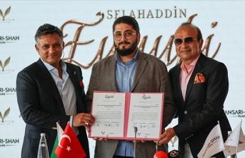 Selahaddin Eyyubi'nin hayatını konu alacak dizi için imzalar atıldı