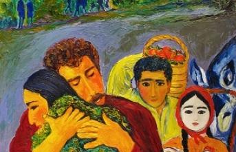 Dolmabahçe Sarayı'nda şehit çocukları yararına sergi
