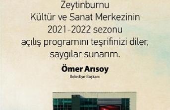 Zeytinburnu Kültür Sanat 2021-2022 kültür sanat sezonunu açıyor