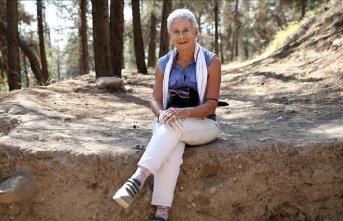İtalyan kadın arkeolog yarım asırdır Anadolu'nun tarihi değerlerini keşfetmek için çalışıyor