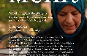 Muhit Sibel Eraslan söyleşisi ile raflardaki yerini aldı