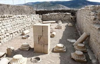 Satala Antik Kenti'ndeki kazıda tarih gün yüzüne çıkıyor