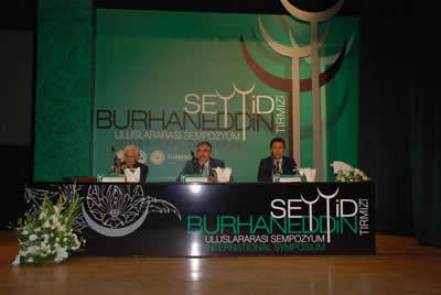 Seyyid Burhaneddin Hazretleri konuşuldu