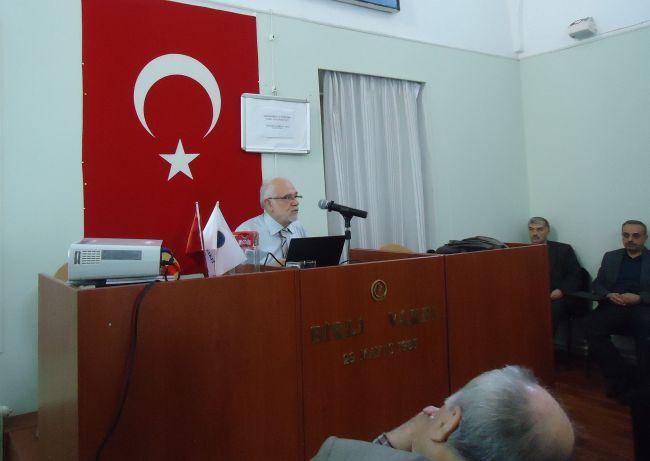 İ.Süreyya Sırma Birlik Vakfı'ndaydı