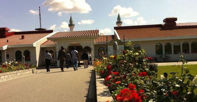 Malmö'de bir Ramazan günü Cuma namazı