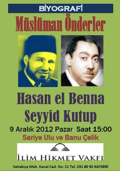 İki Müslüman Önder Kayseri'de konuşulacak