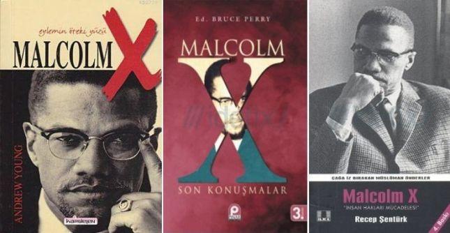 Zamana vurulan siyahi bir damga Malcolm X