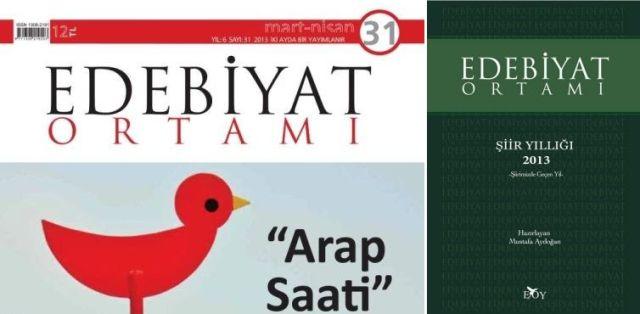 Edebiyat Ortamı'nın 2013 şiir yıllığı çıktı
