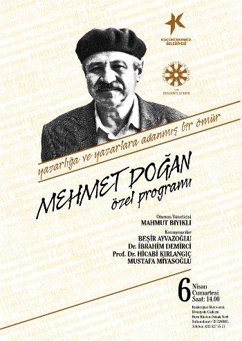 Mehmet Doğan'a 35. yılında özel program