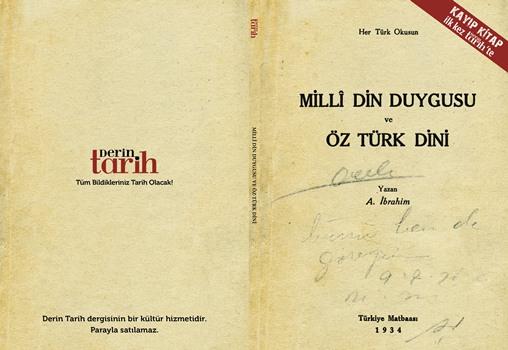 1930'ların 'kayıp kitabı' Derin Tarih'te