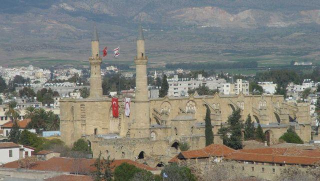 Kıbrıs Lefkoşa'da Selimiye Camii (Video Haber)