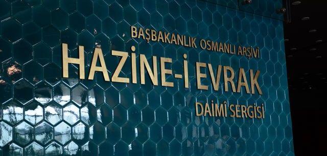 Osmanlı arşivlerine girmek herkese serbest