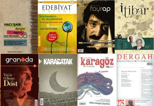 Dergilerde dikkat çeken şairleri sorduk