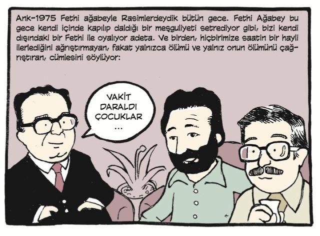 Gemuhluoğlu Şeyhi'yle Gülhane'de gezerken...