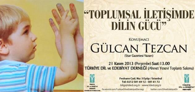 Gülcan Tezcan TDED'de